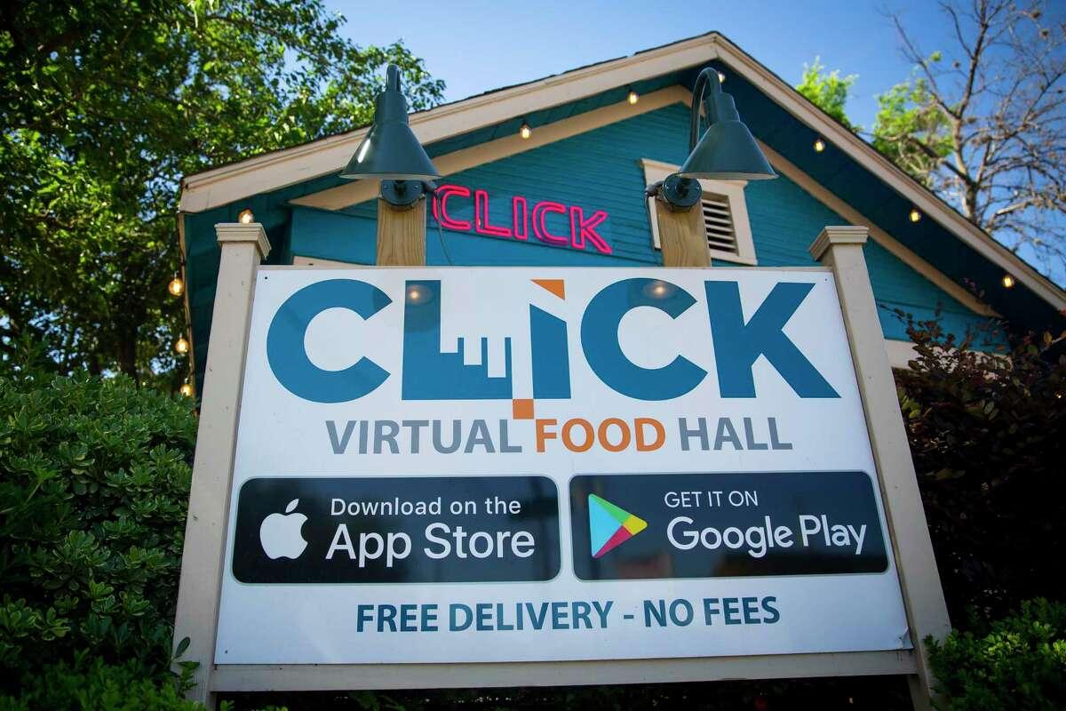 The Click Virtual Food Hall at 4901 Rose St. on Friday, May 1, 2020.