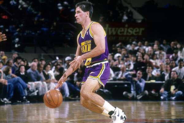 "1995: John Stockton breaks Magic Johnson's assist mark John Stockton's record-breaking 9,222nd assist came in familiar fashion, with a pass to Utah Jazz forward Karl Malone. Stockton and Malone played 18 seasons together, making two NBA Finals. After topping Magic Johnson's mark, Stockton received a video message where Johnson called him ""the greatest team leader I have ever played against."" This slideshow was first published on Stacker"