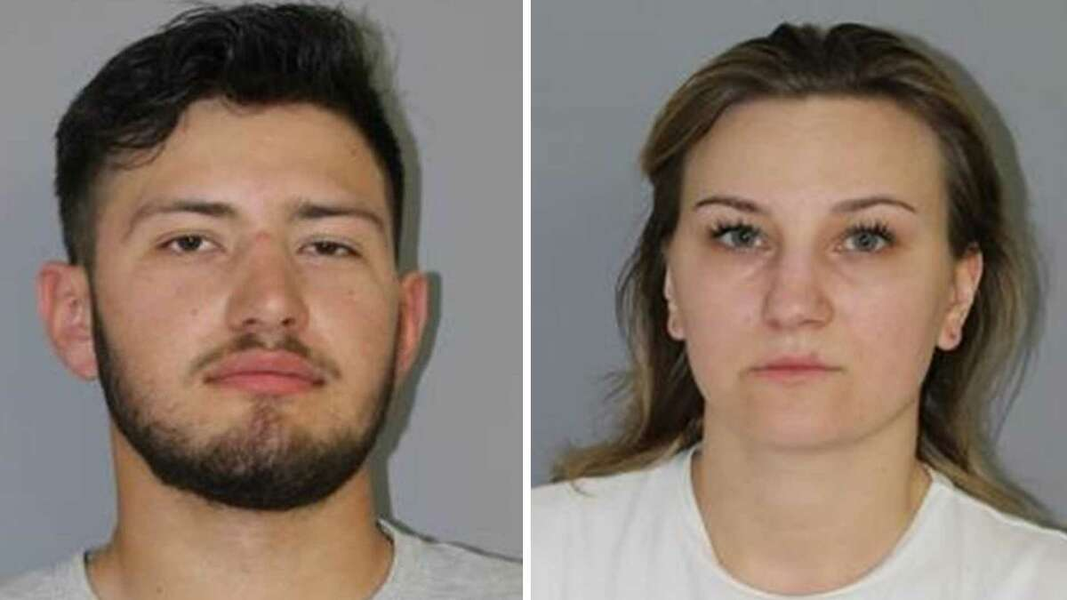 Borice Lepovskiy, 20, and Yuliia Andreichenko, 26, were arrested for repeatedly breaking the state's two-week quarantine for visitors.