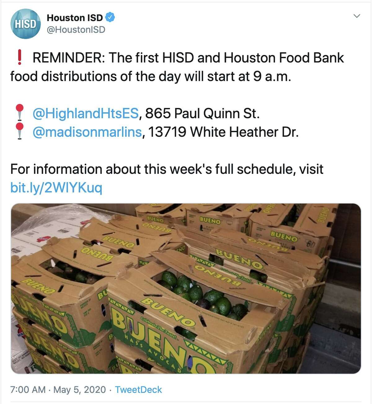 Chron.com is compiling the latest social media posts as Houston responds to the coronavirus crisis.