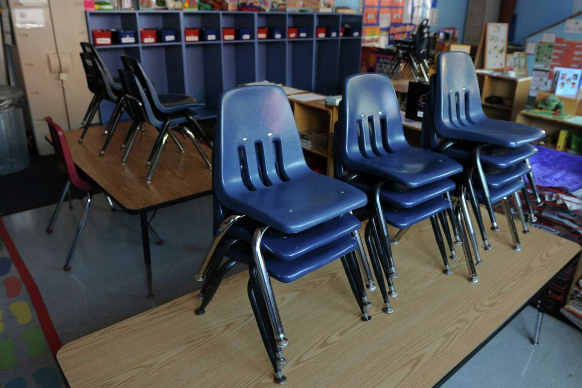 An empty classroom at ABCD Inc., in Bridgeport, Conn. Oct. 2, 2013. The agencyâÄôs federally funded Head Start programs were closed Tuesday due to the Congressional impasse and government shutdown.
