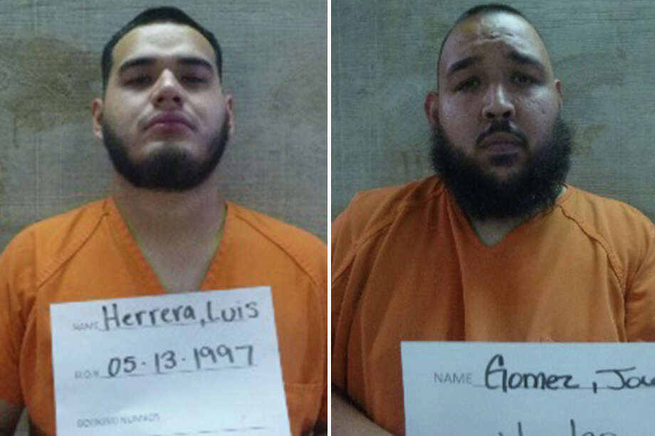 An anonymous tip landed two suspected marijuana dealers behind bars, according to the Webb County Sheriff's Office. Photo: Courtesy