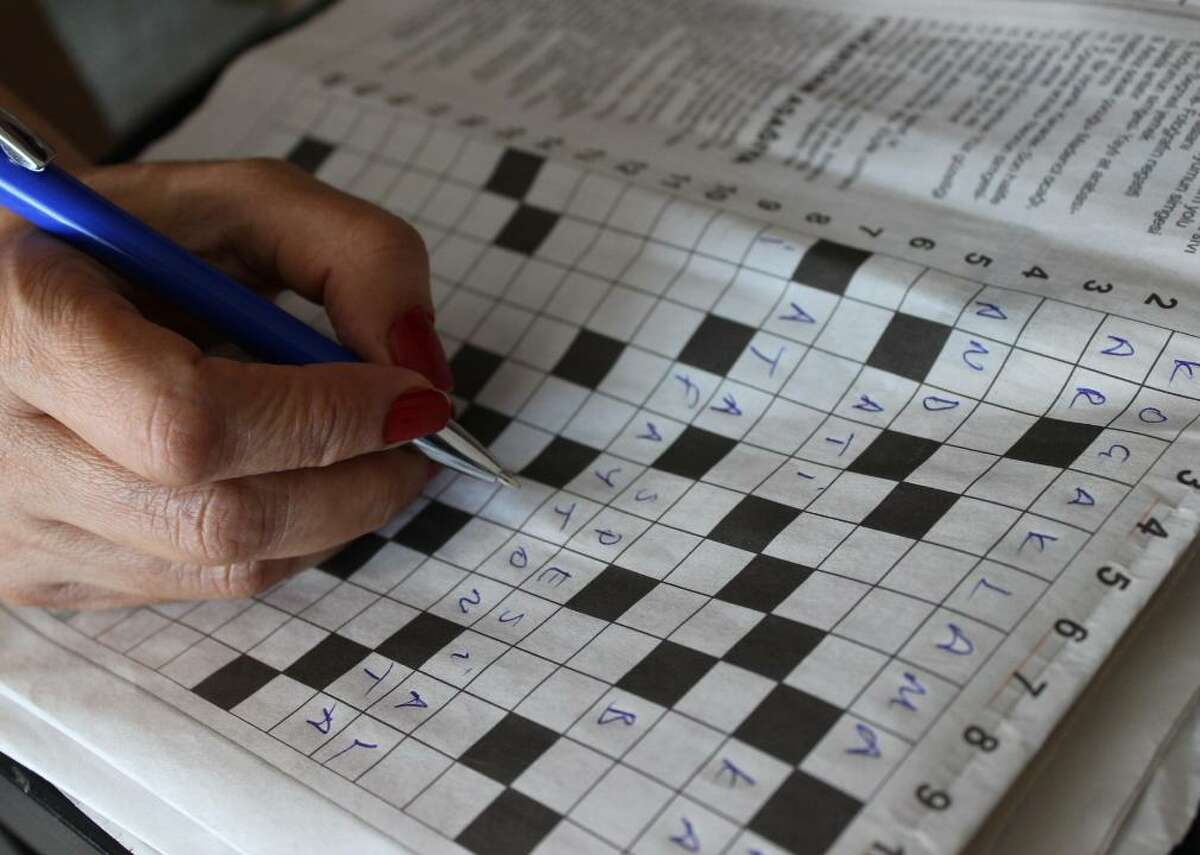 """""""Even the kids have picked up crossword puzzles as a hobby."""""""