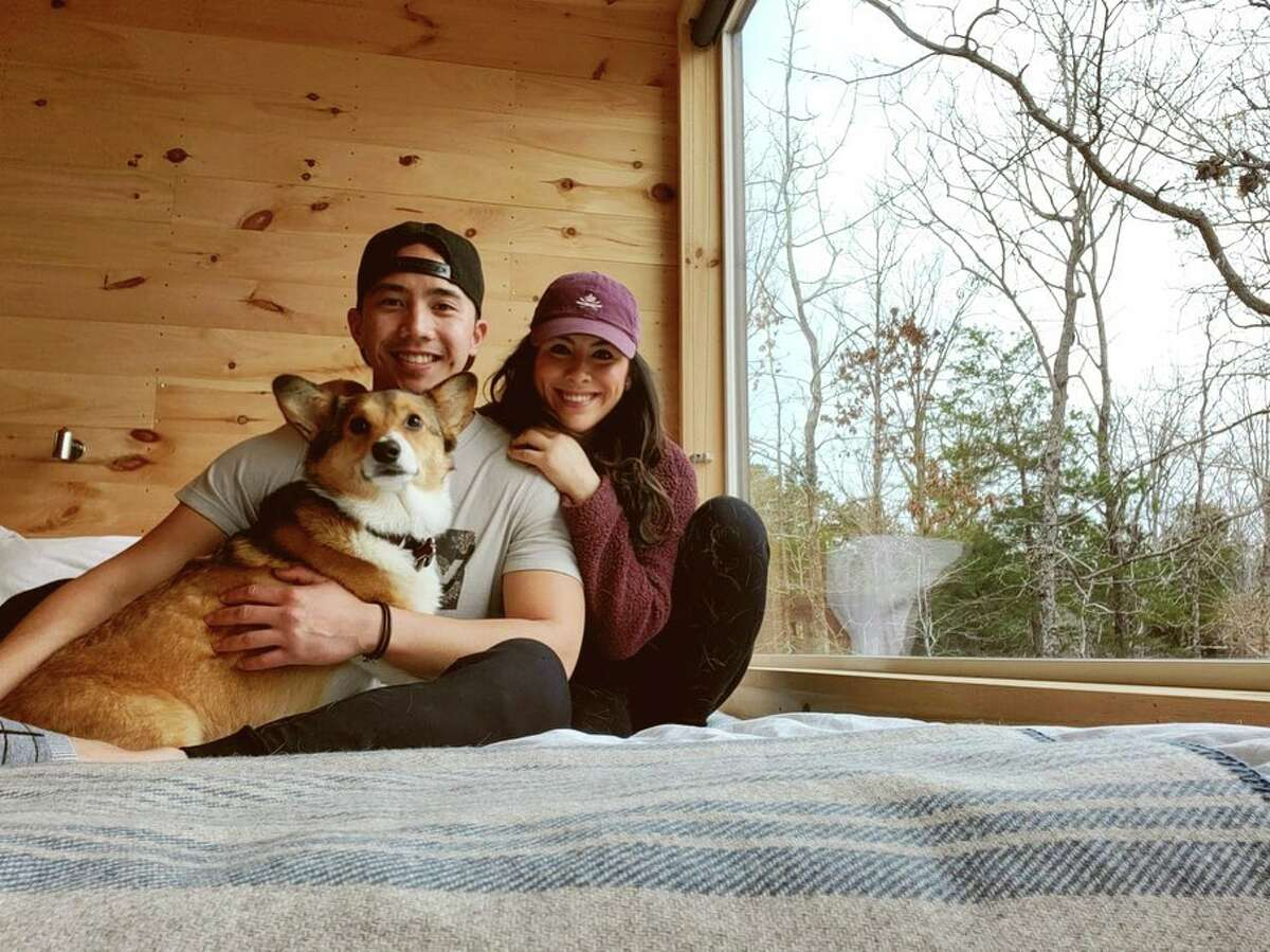 Travel startup Getaway's Piney Woods location offers ample space to roam and unplug.