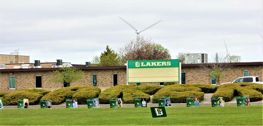 Laker Schools honors each of its graduates and extends congratulations Photo: Sara Eisinger/ Huron Daily Tribune
