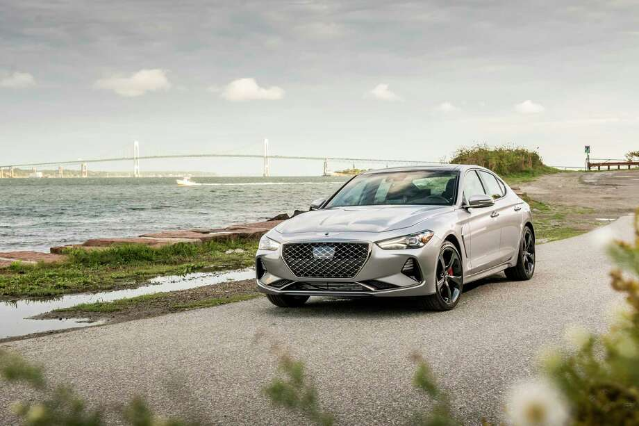 The Genesis G70 offers a 17 mpg city, 25 mpg highway fuel economy. Photo: Genesis Pressroom/ Contributed Photo / James Lipman