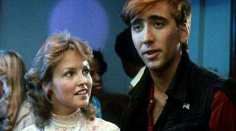 """Deborah Foreman and Nicolas Cage play an unlikely couple in """"Valley Girl."""""""