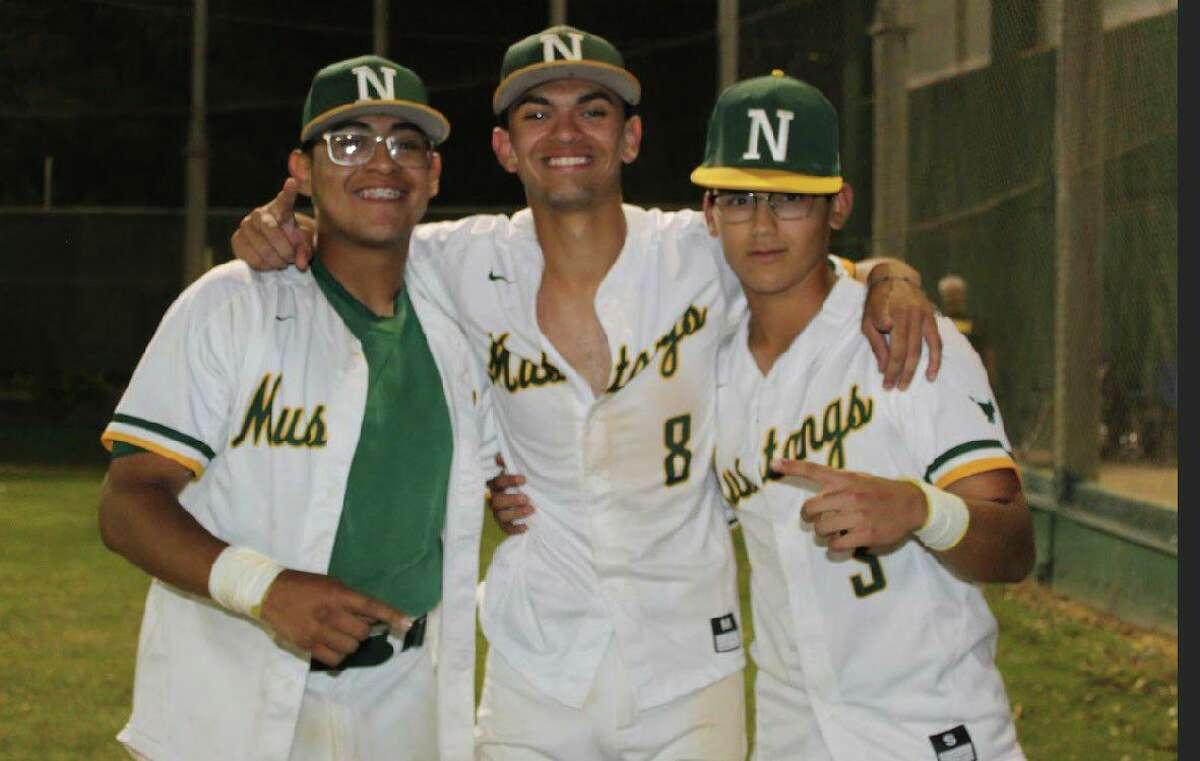 Nixon baseball's Sergio Reyes, TJ Rogerio and Jerry Rodriguez