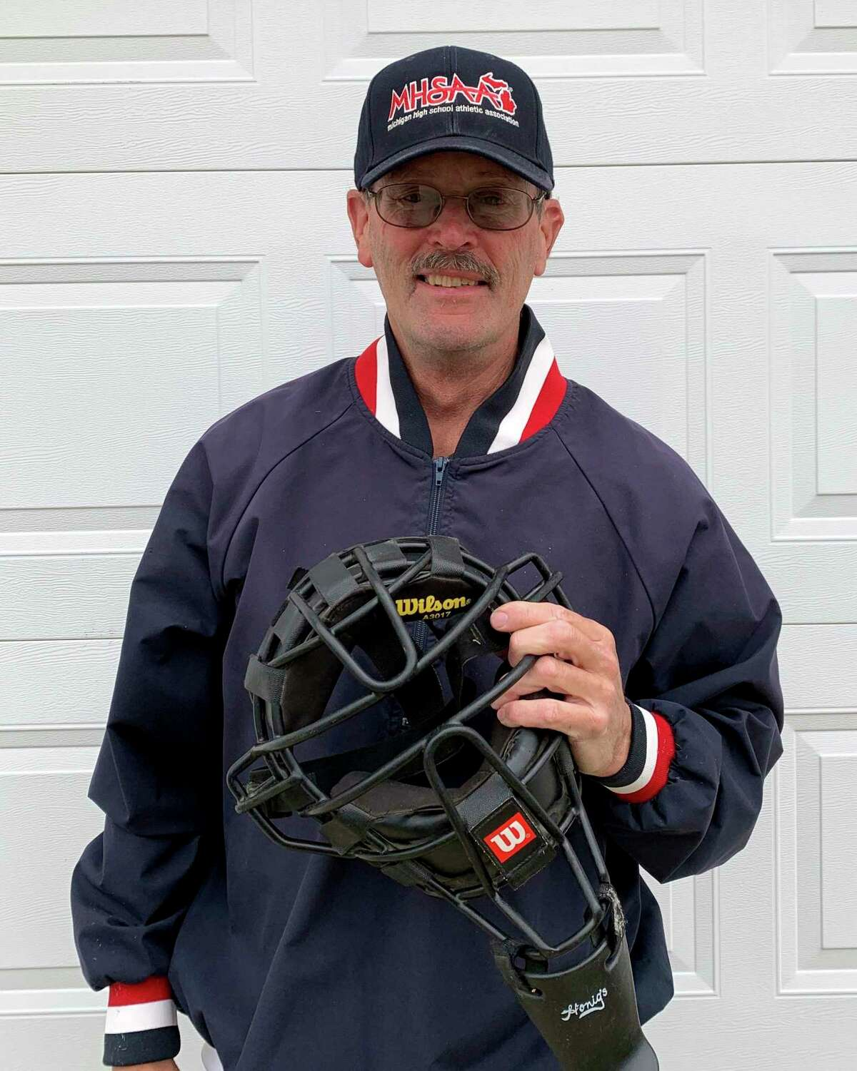Local umpire Kevin Courtney said misses getting out on the diamond from spring through summer. (Courtesy photo/Kevin Courtney)