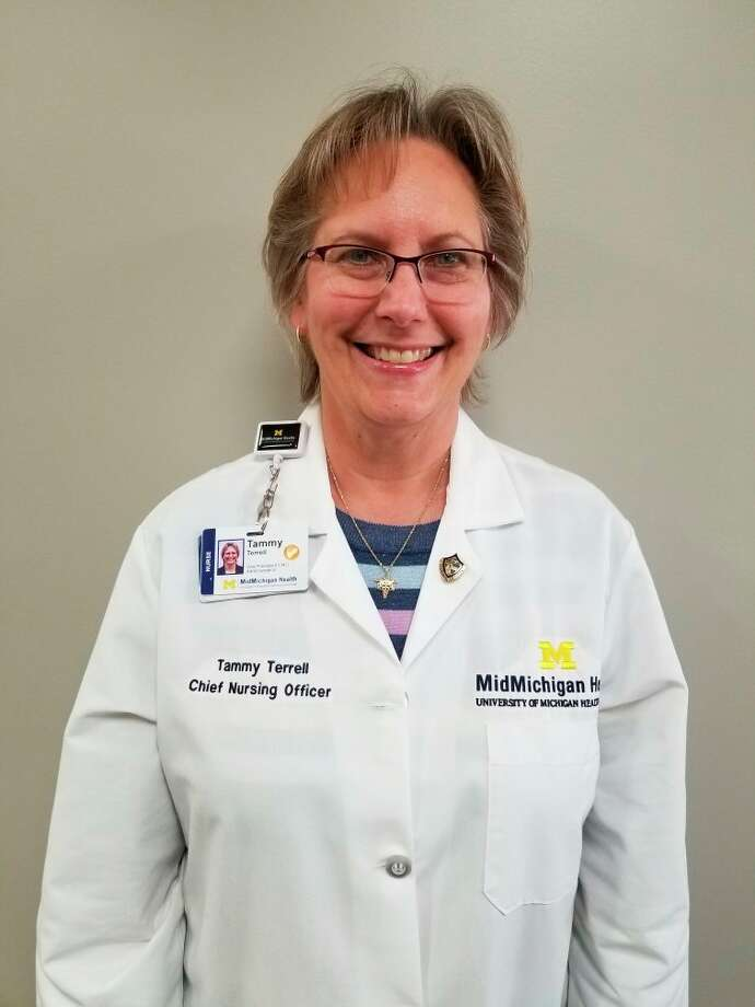 Tammy Terrell, vice president of nurses and chief nursing officer at MidMichigan Health. (Photo provided)