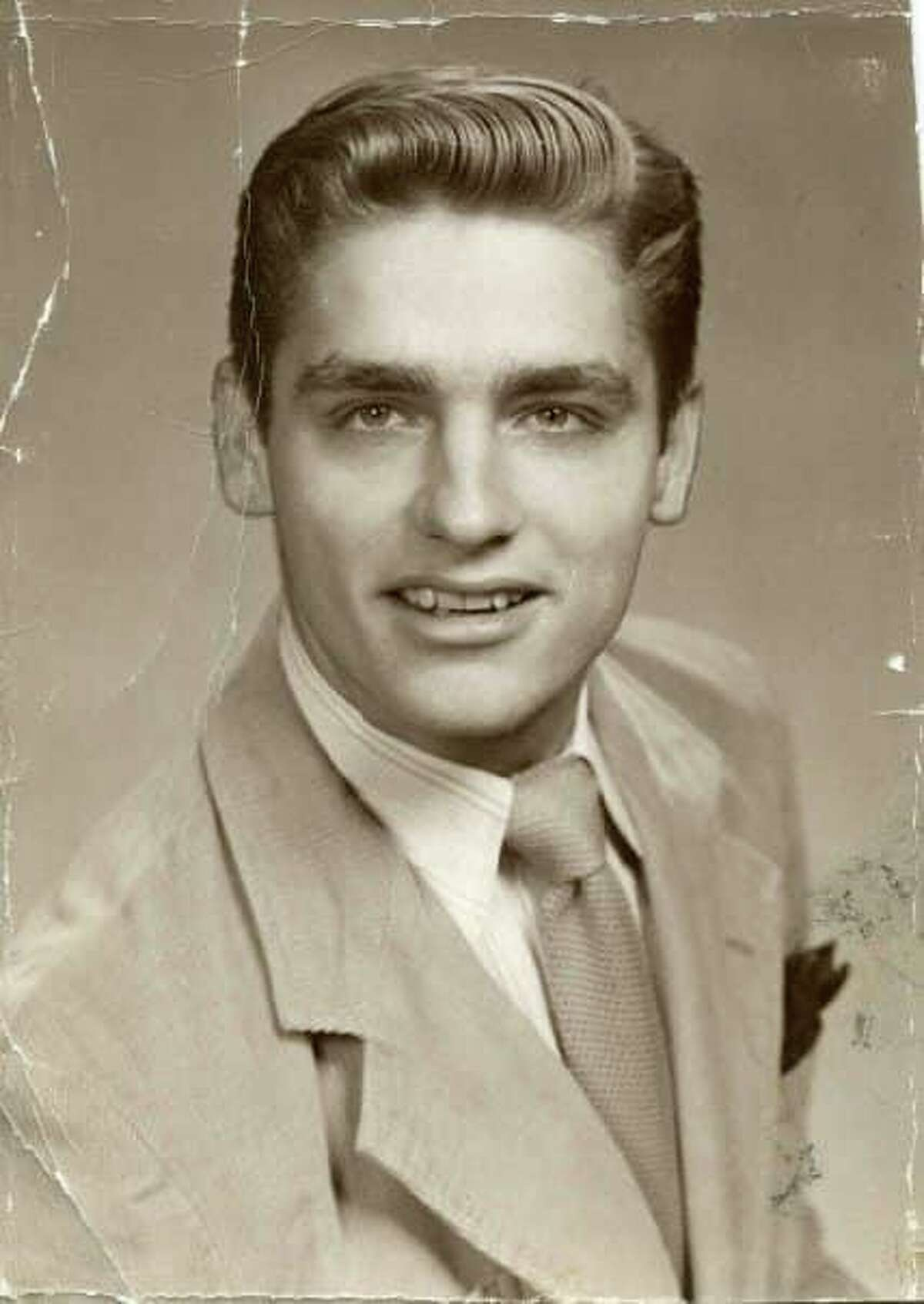The late Dr. Howard Budd Bennett Sr. of Westbrook is shown as a young man. The 86-year-old died Sunday of health complications due to COVID-19.