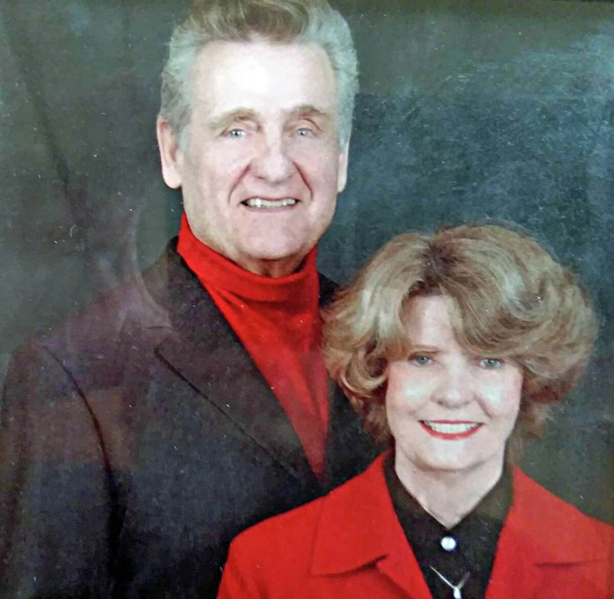The late Dr. Howard Budd Bennett Sr. is pictured with Joan, his wife of 62 years.