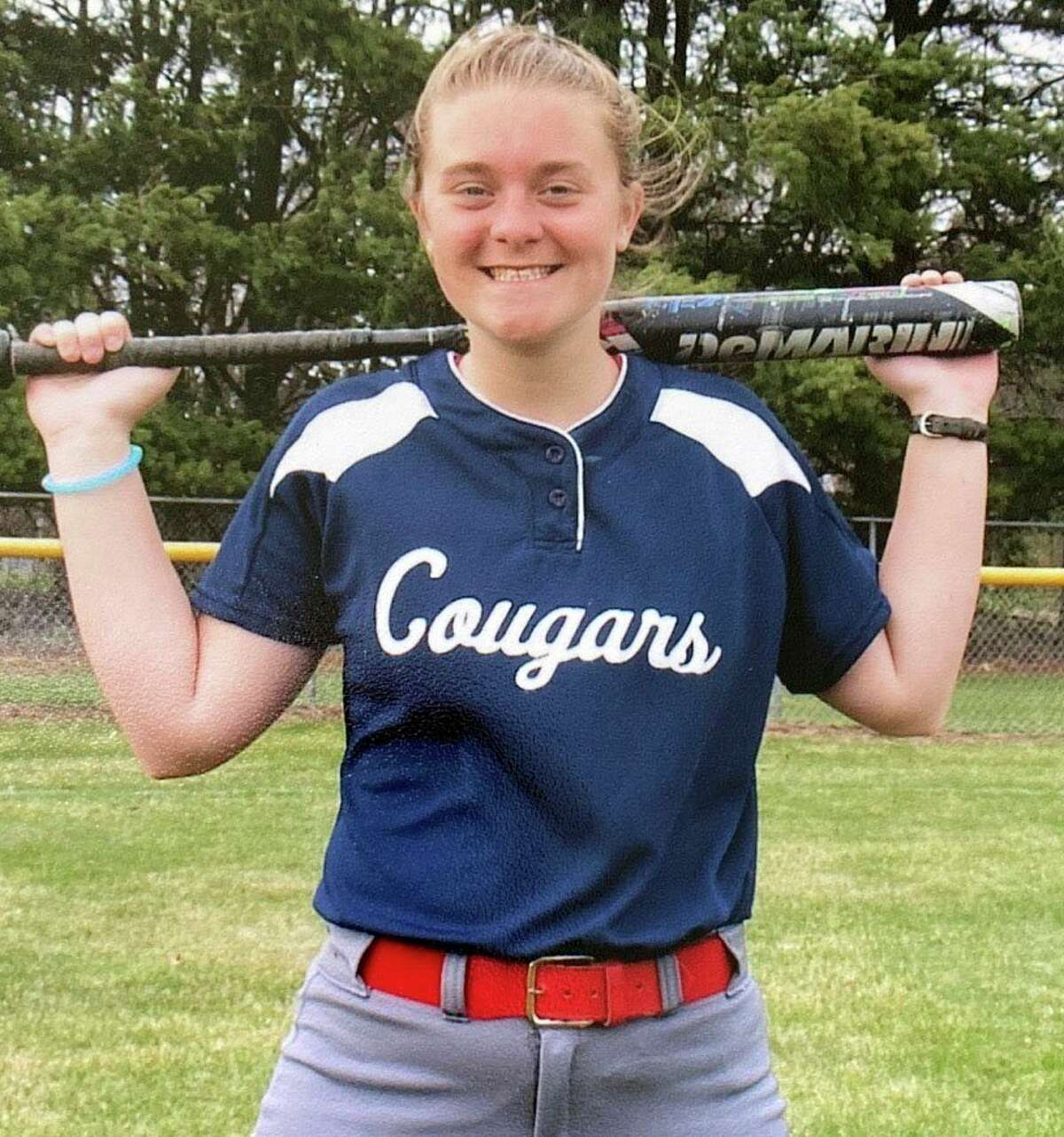 Gretchen Purcell has been among Crossroads' top softball players in recent seasons.(Courtesy photo)
