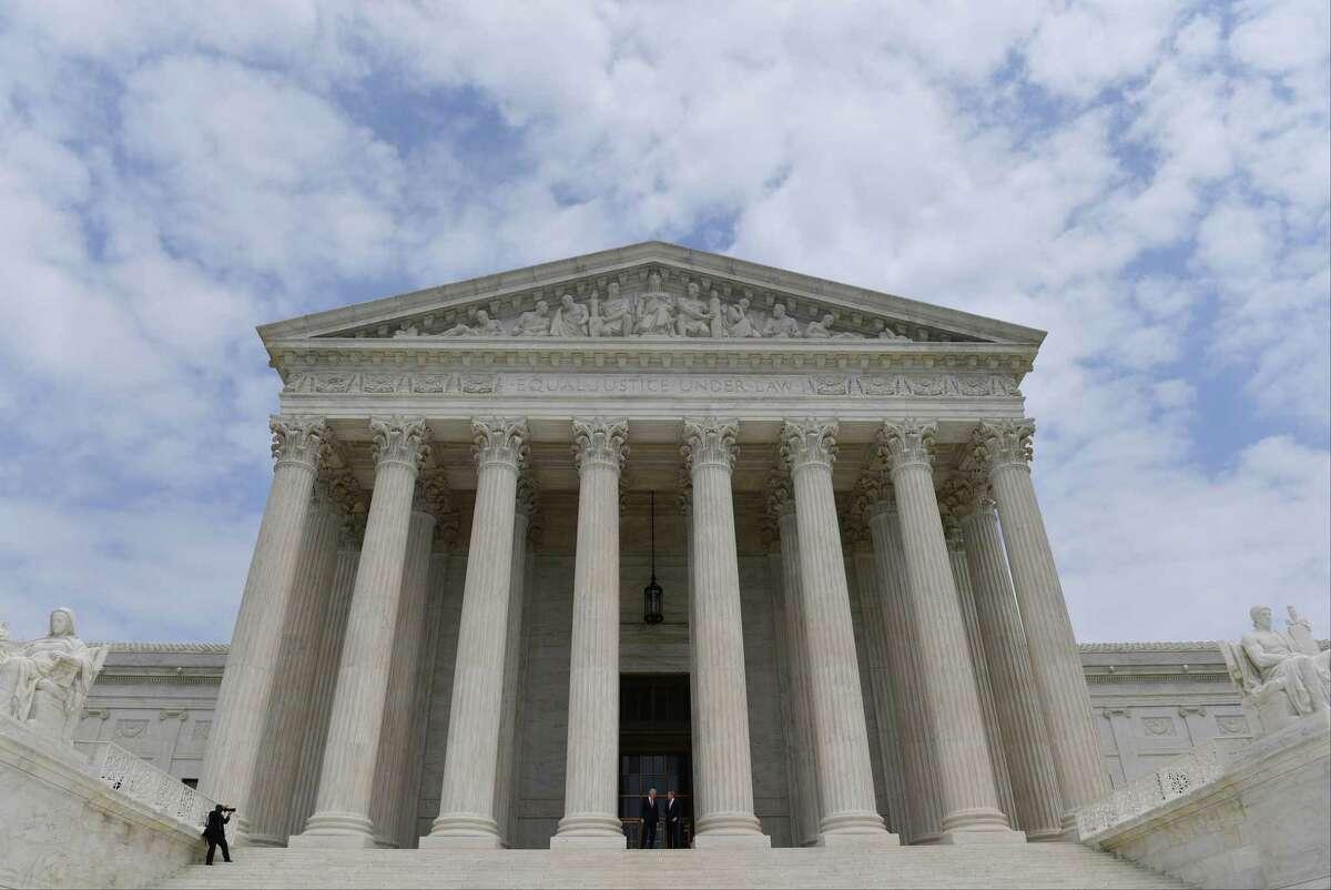 U.S. Supreme Court in Washington, D.C. MUST CREDIT: Washington Post photo by Ricky Carioti