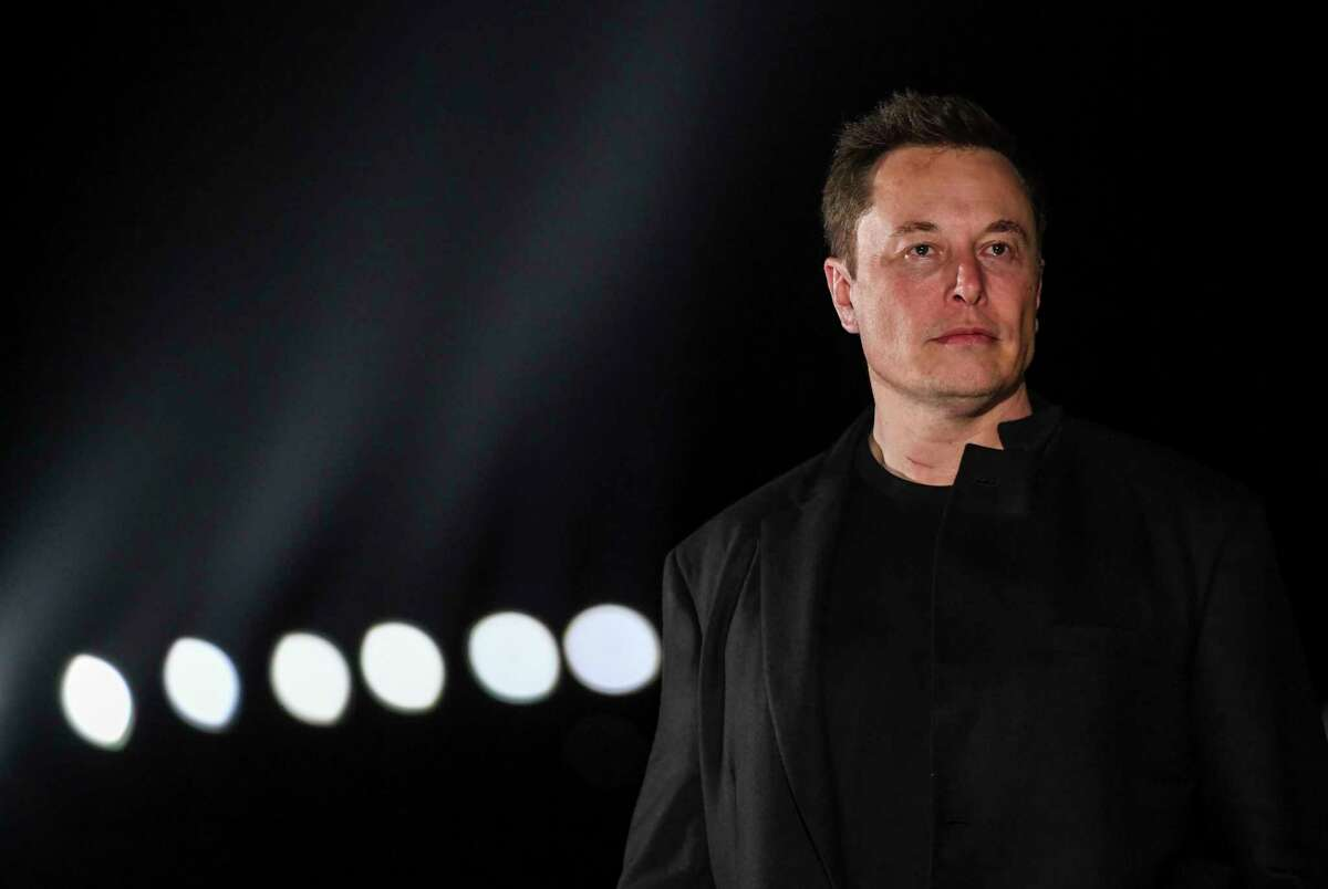 Tesla CEO Elon Musk has taken to Twitter to argue for an end to shelter-in-place orders. He is photographed Sept. 28, 2019, in Brownsville, Texas. MUST CREDIT: Washington Post photo by Jonathan Newton