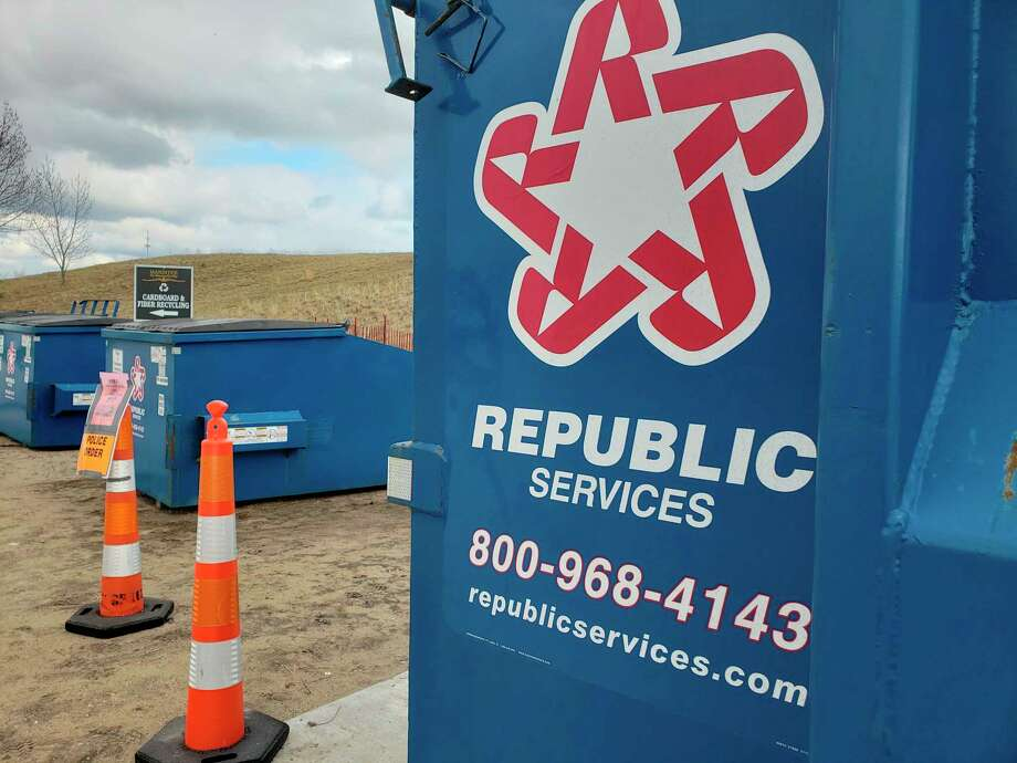 Over the next two months, Republic Services said all of its frontline employees will receive a weekly meal. There will also be a weekly dinner for employees and their families, and bi-weekly $100 gift cards ($400 per employee) to be spent locally. The company also has operations in Manistee. (File photo)