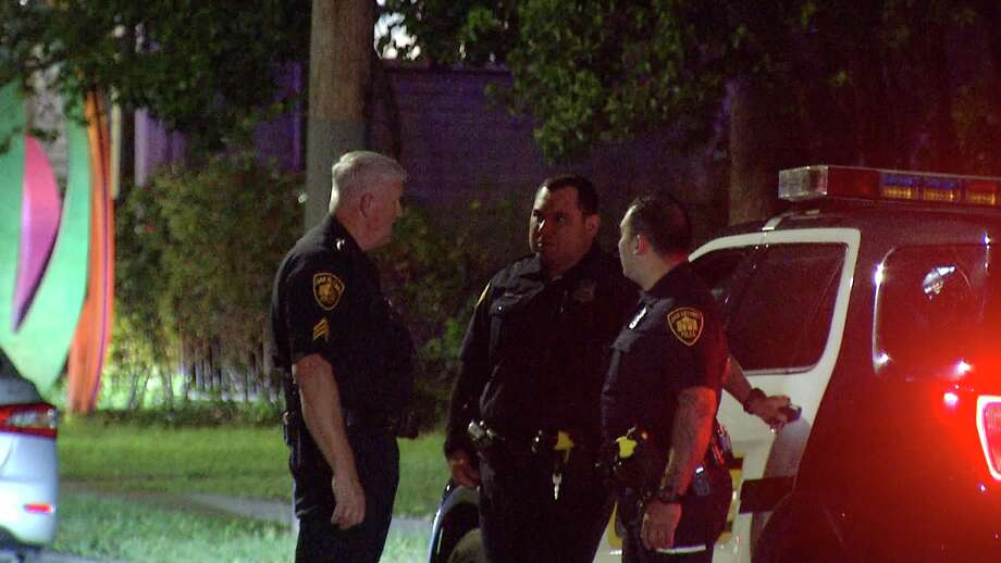 An Alamo Community College officer is in critical condition after suffering from a heart attack while responding to a shooting late Tuesday night. Photo: Ken Branca