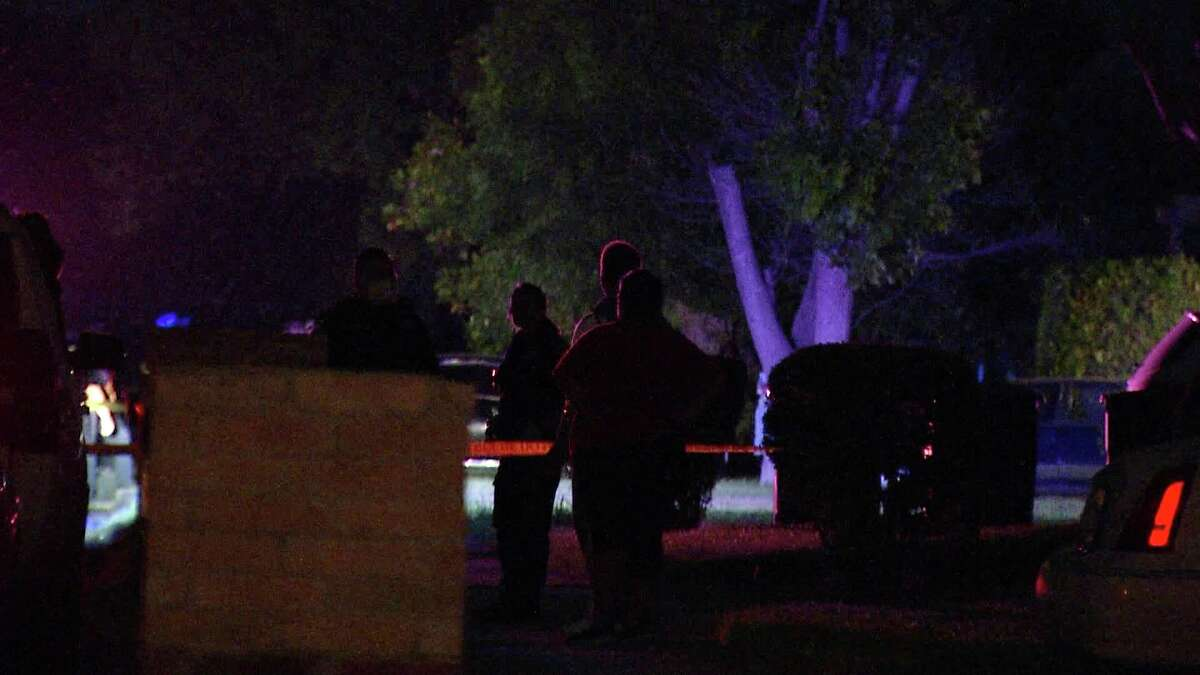 Three people were hospitalized after a drive-by shooting on the East Side late Tuesday night.