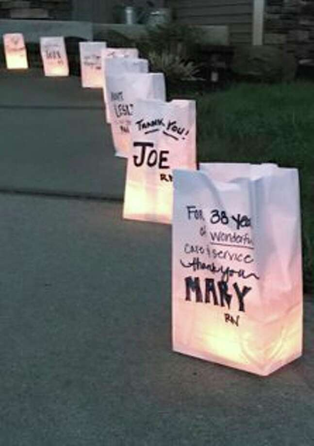 Spectrum Health is asking community members to decorate and light luminary bags for special health care workers in their life at 9 p.m. on Tuesday, May 12 to join in a reverent display of solidarity and appreciation. (Courtesy photo)