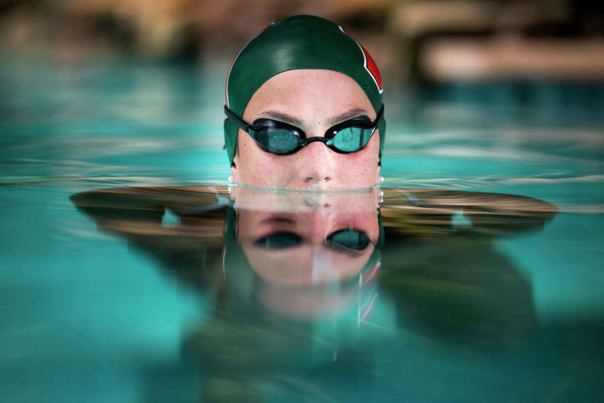 Lillie Nordmann, 17, from The Woodlands High School, is the Chronicle's All-Greater Houston girls swimmer of the year. She has committed to join Stanford University.