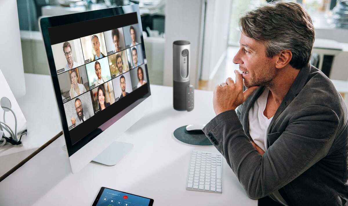 """With so many of us having to become video conferencing experts almost overnight, it can sometimes feel like we're in an unending episode of """"The Brady Bunch,"""" living our life stacked vertically and horizontally for all to see."""