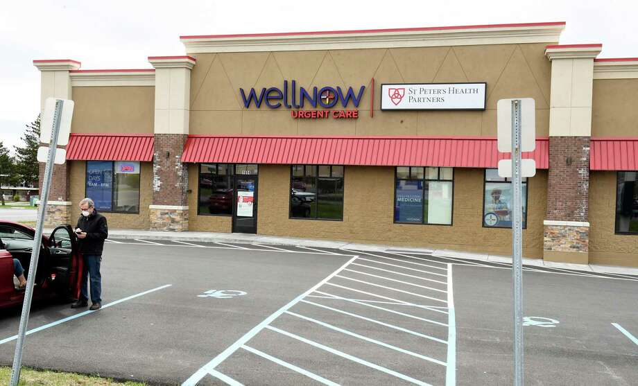 Exterior of WellNow Urgent Care at The Crossing plaza on Wednesday, May 6, 2020 in Clifton Park, N.Y. WellNow Urgent Care announced today that it will begin offering both diagnostic and antibody testing at its locations in Albany, Niskayuna, Clifton Park and Hudson. (Lori Van Buren/Times Union) Photo: Lori Van Buren, Albany Times Union / 20049280A