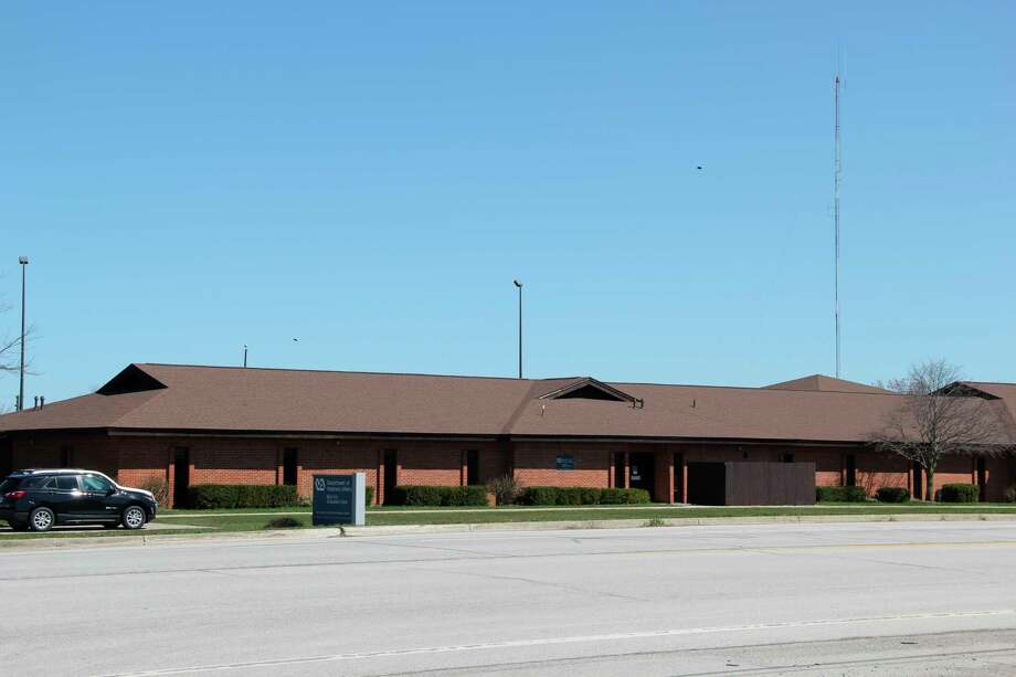 The Veteran's Affairs Clinic in Bad Axe. The Clinic plans on increasing the space it uses in its building later this year. (Robert Creenan/Huron Daily Tribune)