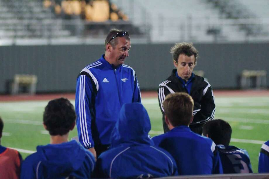 Friendswood High boys soccer coach Stephen Peter has been named coach of the year for District 22-5A. Photo: KIRK SIDES / Kirk Sides