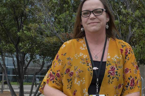 Patricia Angley is one of three buyers responsible for purchasing medical supplies for Midland Memorial Hospital.