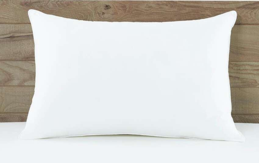 Stomach Sleeper Down Pillow, $19.18For stomach sleepers, you will need a soft-to-medium support pillow. This down alternative pillow from I AM is filled by polyester fibers.The design of this pillow will keep it from going flat to offer the perfect amount of medium support for stomach sleepers.