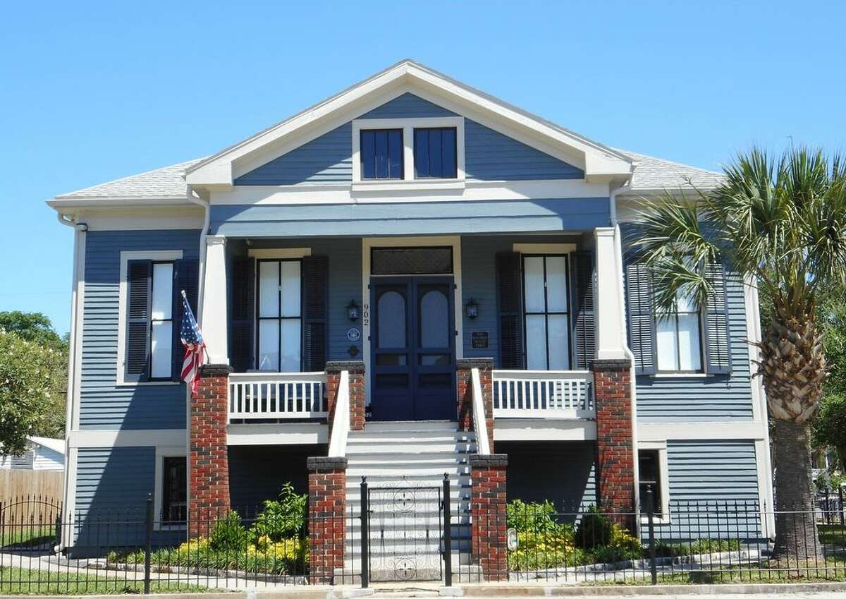 The James and Louise DeForest House(1883) is one of four that will be on a revamped, virtual homes tour held May 9 by the Galveston Historical Foundation.
