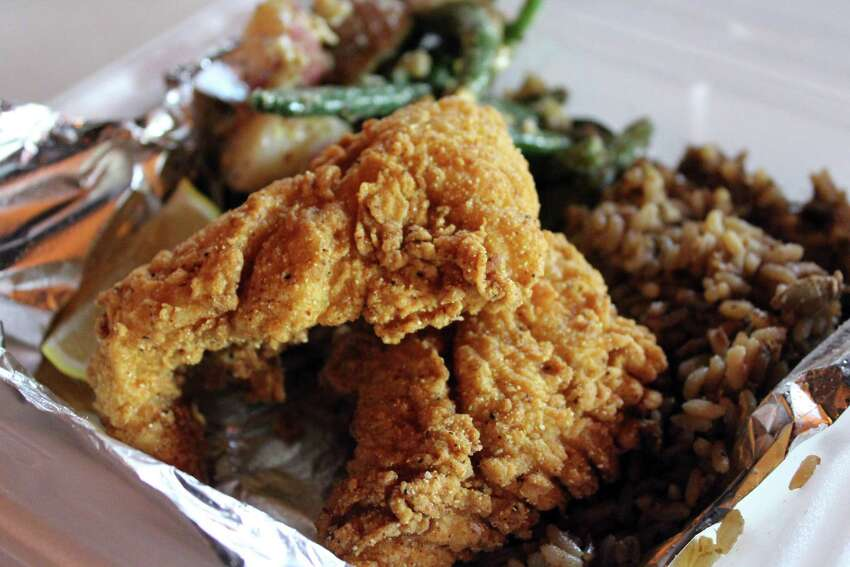 Acadiana Cafe:1289 S.W. Loop 410, 210-674-0019, acadianacafe.com.Will offer family meals feeding up to five. Choices include a half gallon of chicken and dumplings with five servings of bread $18.95, or a pound of fried popcorn shrimp with pint side choices of coleslaw, red beans and rice, mashed potatoes or french fries $21.50; a family meal choice of a half-gallon of red beans, pint of rice, five sausage links, and five breads, $23.25; or a half-gallon of chicken and sausage jambalaya served with five breads $25.65 ; a meal offering of five boneless, marinated baked chicken a breasts with a half-gallon of tossed salad with choice of dressing $27.45; lastly a pound of fried catfish, two side choices and five breads, $29.95 patrons can choose from biscuits, hushpuppies,or cornbread.