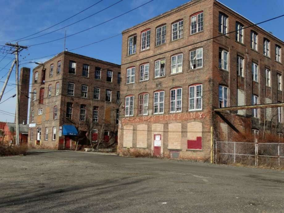 The former Star Pin Manufacturing building. Photo: Contributed Photo / Connecticut Post