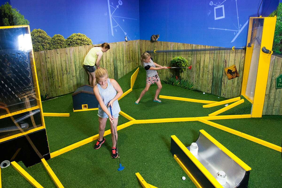 Backyard mini golf is all about the math of angles in the new