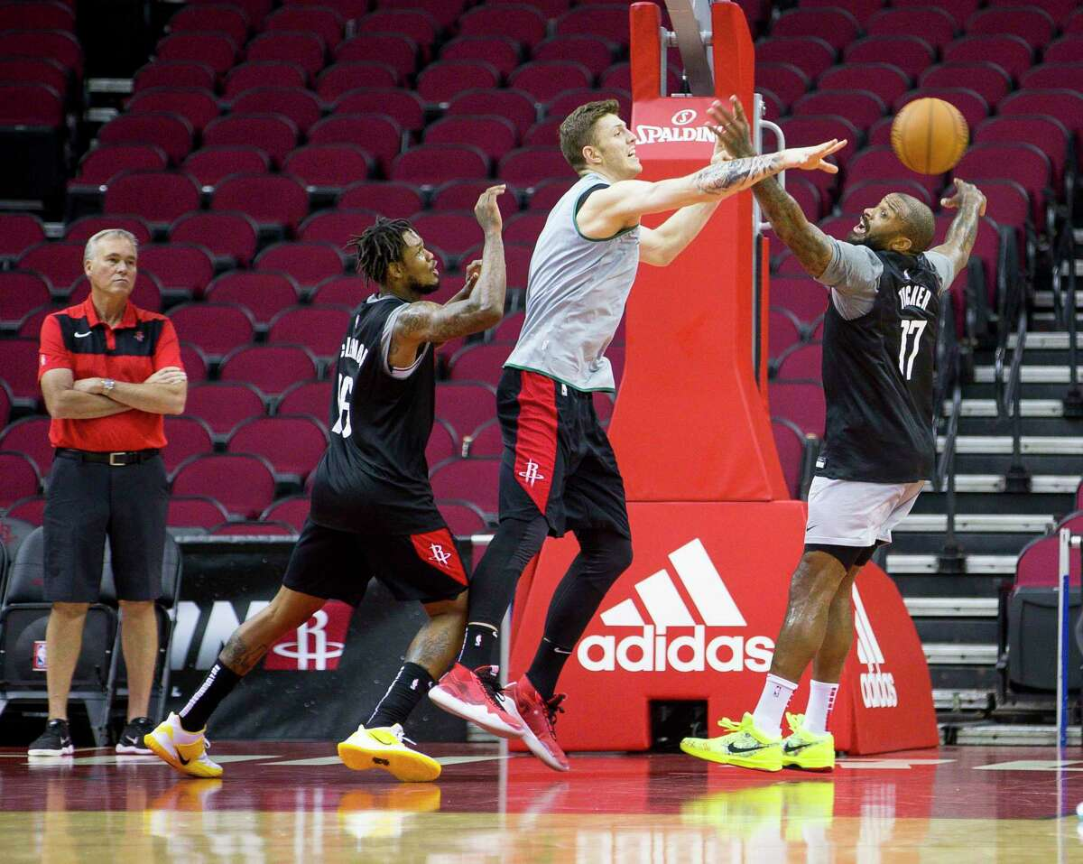The Rockets have pushed back opening Toyota Center to players until at least May 18 but there are restrictions on how many players can be on court at a time and no coaches may be present.