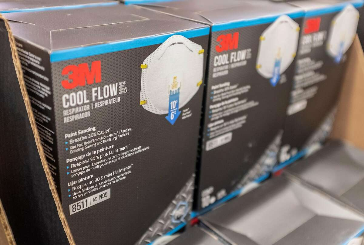 3M N95 particulate filtering face mask are seen at a store in East Palo Alto, California, United States on January 26, 2020. The comment itself goes into excruciating detail about flow dynamics and force and particle size, all in an effort to say, using the language of science, that the original research had little to no validity. Though UConn's Jason Hancock did write that
