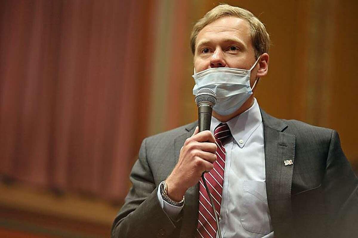 Speaker of the House Matt Ritter, D-Hartford