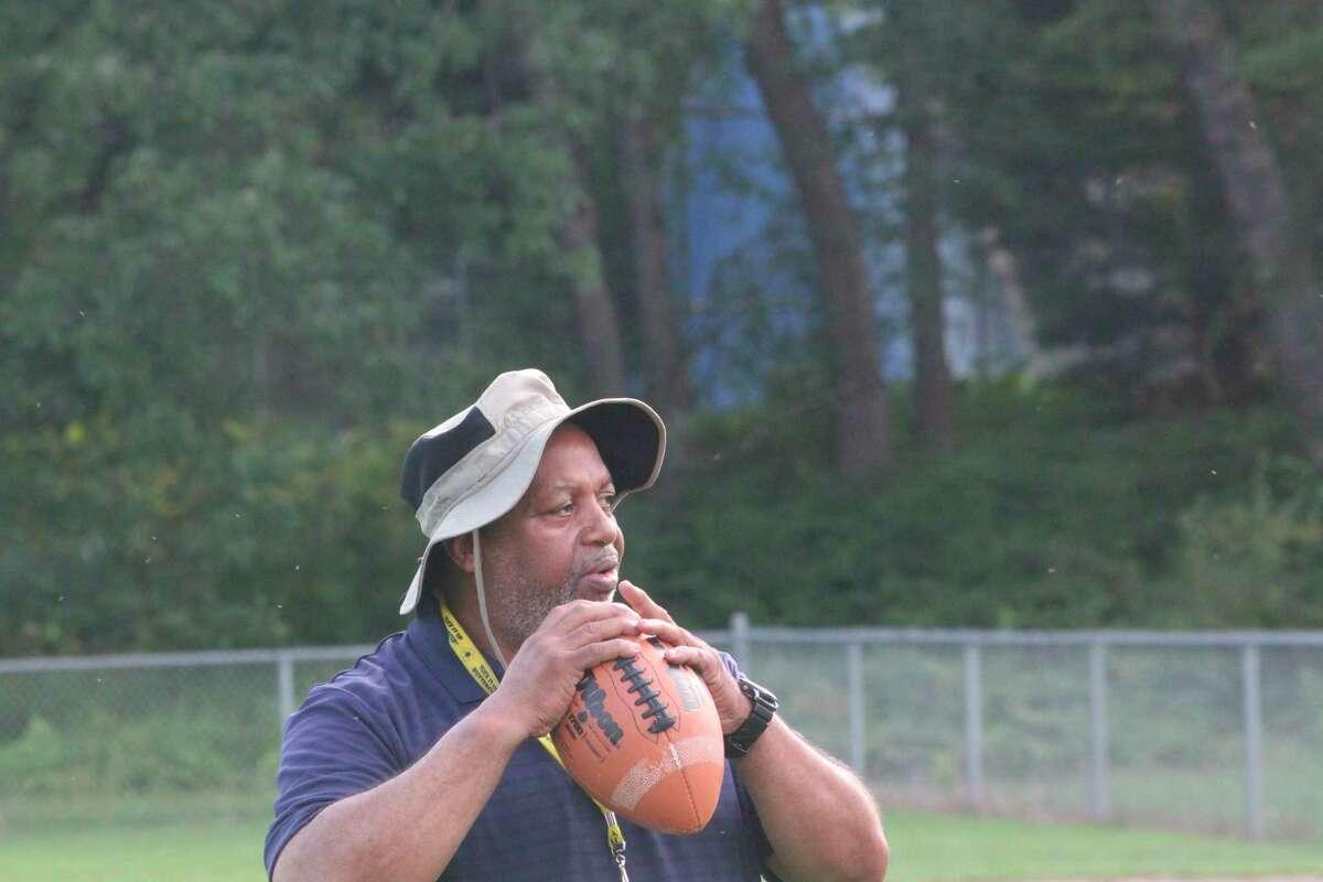 Bob Watkins is football and track coach at Baldwin. (Star photo/John Raffel)