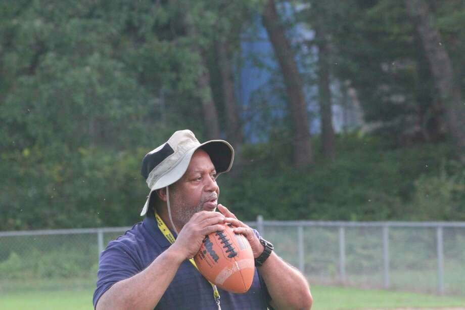 Bob Watkins is football and track coach at Baldwin. (Star photo/John Raffel)