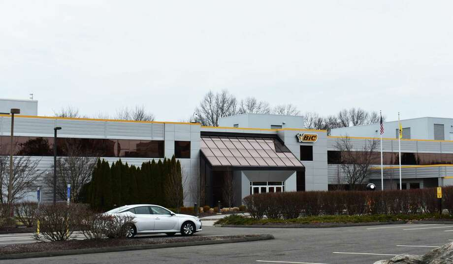 Bic's U.S. headquarters in Shelton, Conn., in February 2019. Photo: Alexander Soule / Hearst Connecticut Media