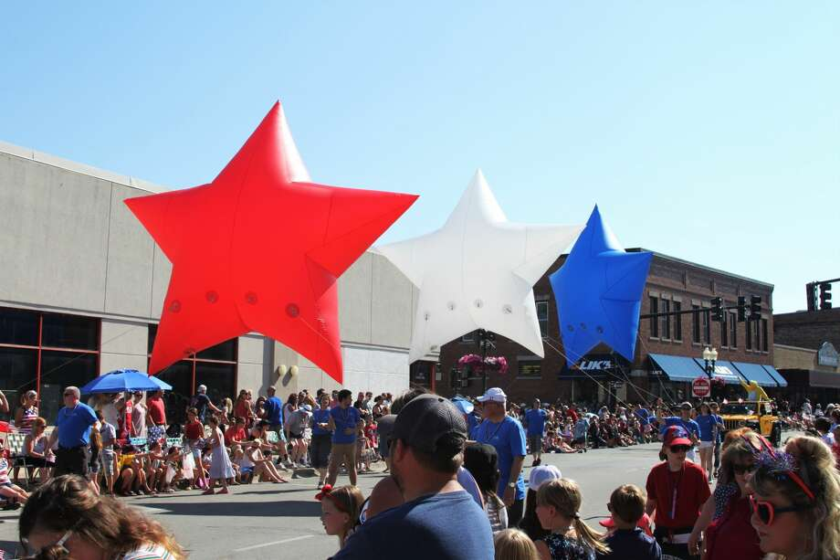The annual Fourth of July parade is a staple of the Manistee National Forest Festival. Due to the COVID-19 pandemic, the Manistee National Forest Festival has been canceled for 2020. Photo: File Photo