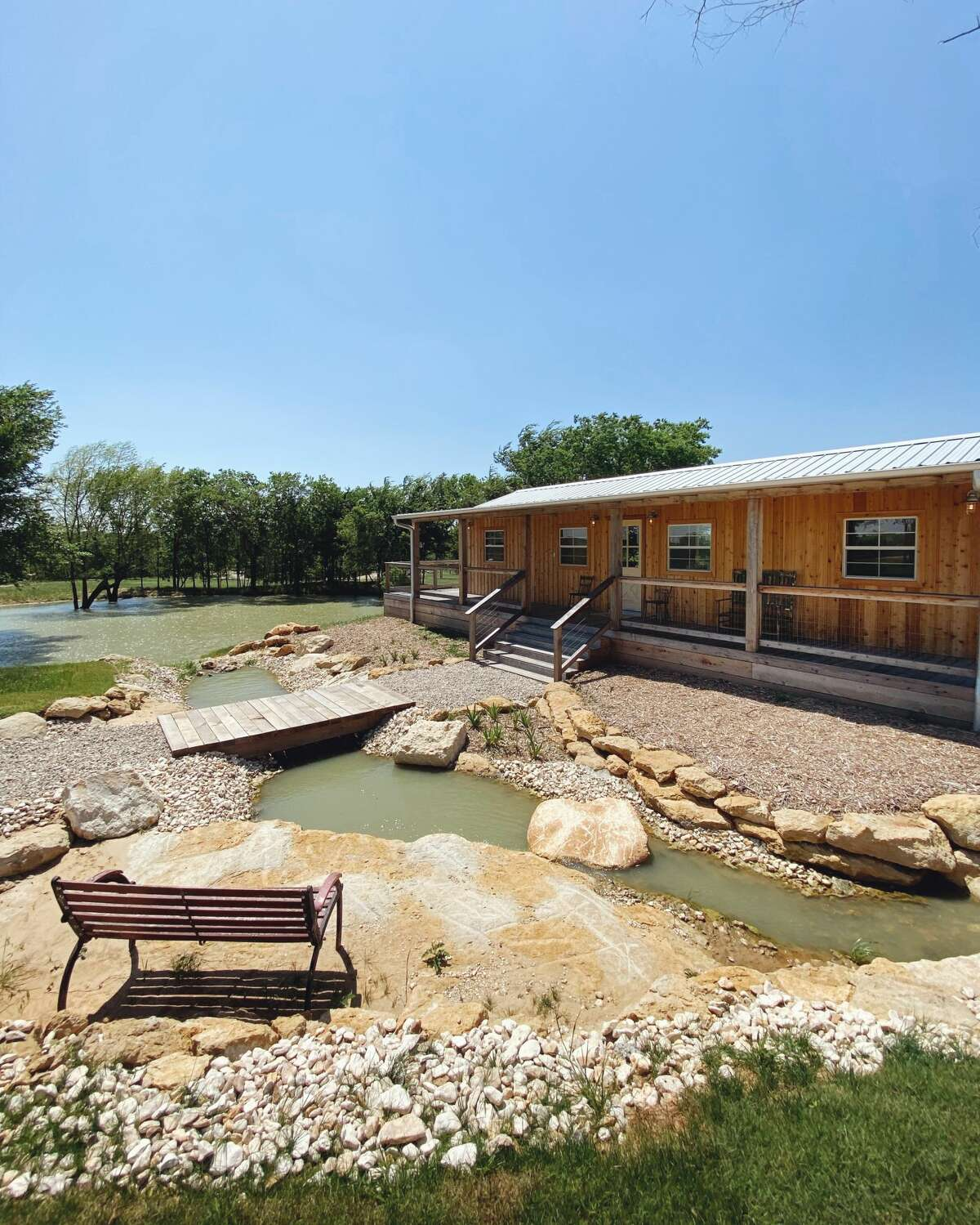 The Range Vintage Trailer Resort will open on June 1 along the Ennis Bluebonnet Trail in Bristol, Texas, just 30 minutes south of Dallas.