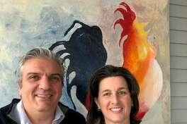 Raffaele Gallo and Glori Norwitt of Ridgefield.