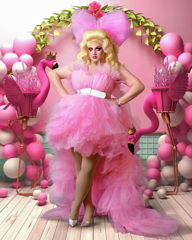 Houston drag queen Muffy Vanderbilt III