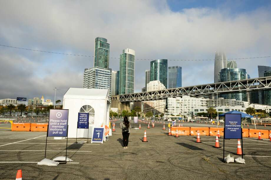 The city of San Francisco opened a new COVID-19 testing center on Pier 30/32 in San Francisco, California on May 5, 2020. Photo: City Of San Francisco