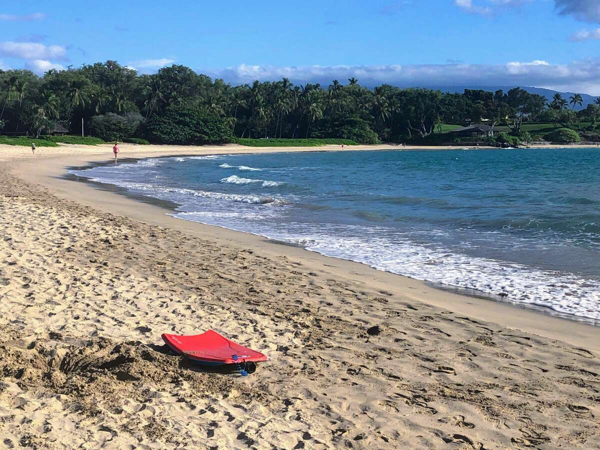 Mauna Kea (Kaunaoa) Beach on the Big Island. Fortunately, aloha is more than a greeting. It includes the cultural values of caring for kūpuna (seniors) and keiki (children) and laulima (