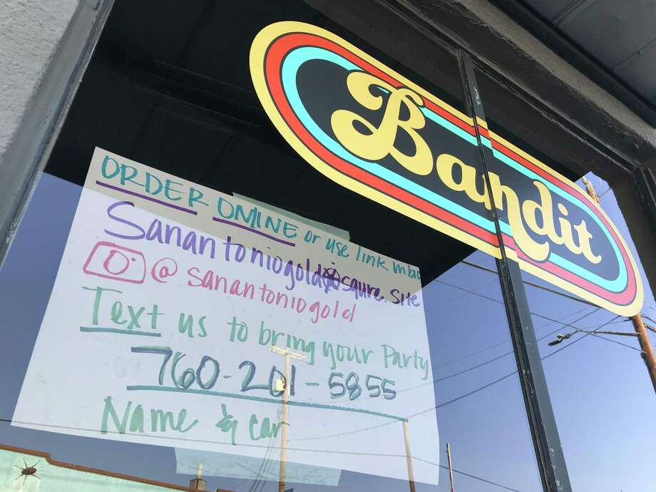 Bandit BBQ is located inside the Freight Gallery & Studios at 1913 S. Flores St. Photo: Paul Stephen / Staff