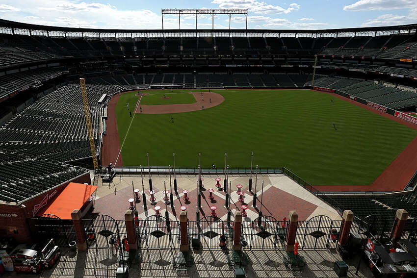 It seems the only safe way to stage baseball this year would be with no fans in attendance. Any model likely would not include the minor leagues, would expand MLB rosters from their current 26 players and would require a taxi squad of reserves in case of injury. Virus testing would be necessary for anyone expected to enter a stadium. And players would require at least three weeks of spring training to prepare for the abbreviated season. With that in mind, let's look at three spectator-free proposals MLB is reportedly considering: a realignment that would allow teams to operate in their respective cities, an enclosed 30-team operation in Arizona, and a three-state hub.