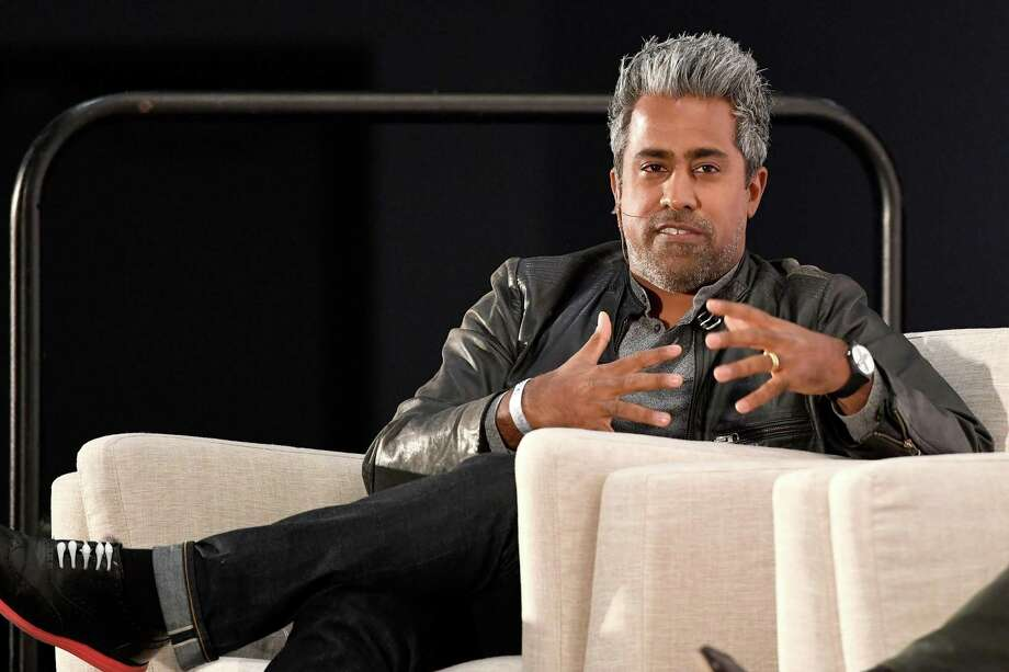Anand Giridharadas speaks onstage at Politicon 2018 at Los Angeles Convention Center. Photo: Michael S. Schwartz / Getty Images / 2018 Michael S. Schwartz