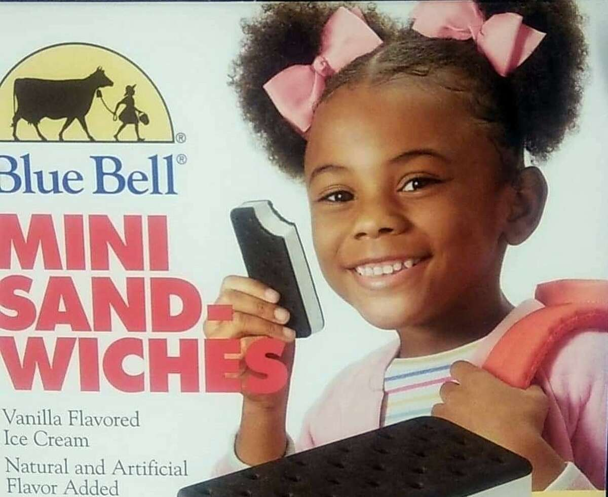 London, who is the new face of Blue Bell's mini ice cream sandwiches, handed out frosty snacks from the Brenham-based creamery as well as ice cream from Boyce Kids Cream Machine.London co-owns the ice cream truck with her siblings Thomas